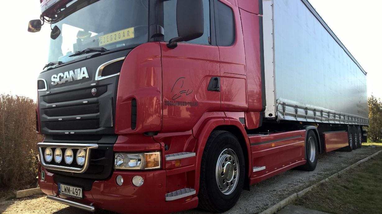 Nemzetközi közúti teherszállítás